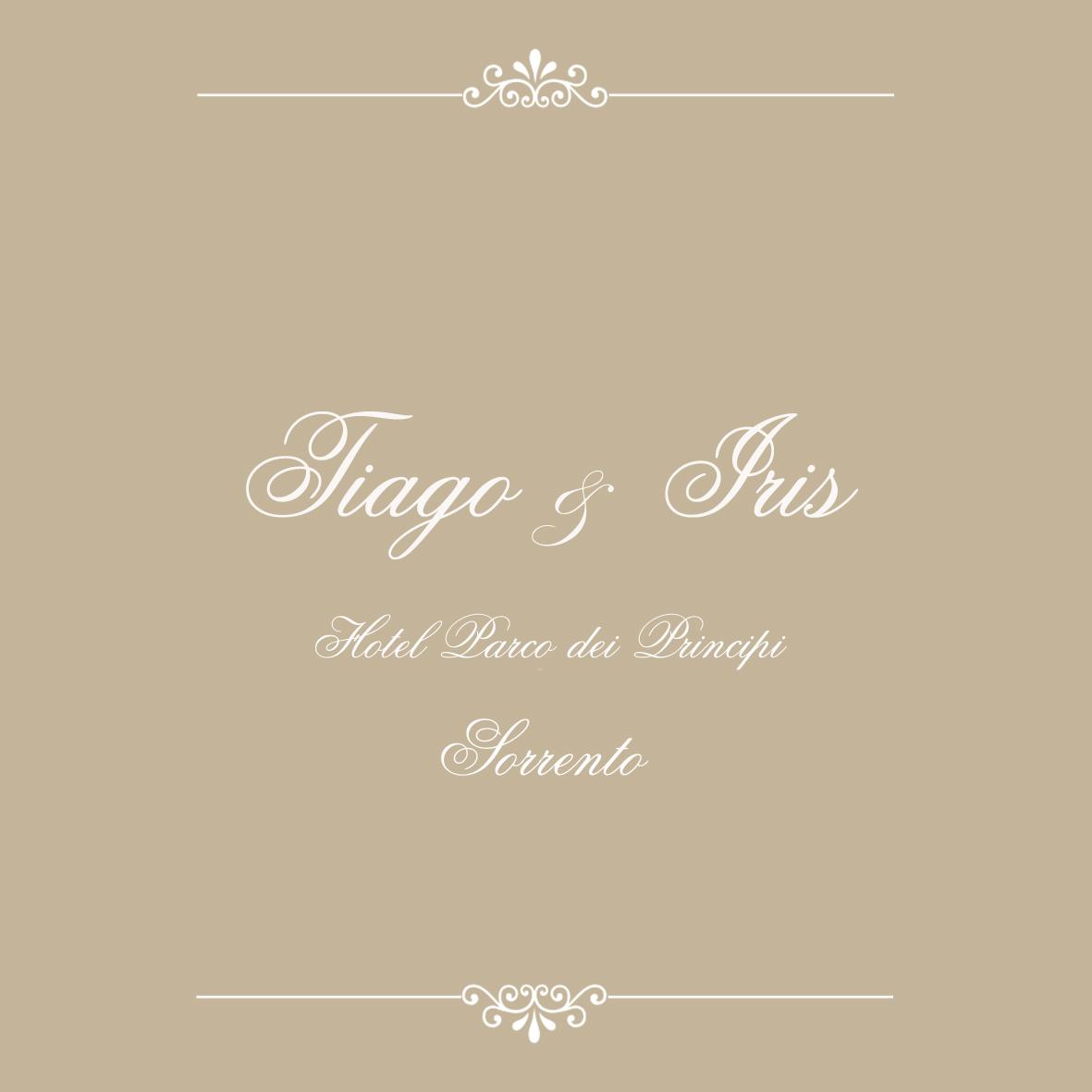 Thiago e Iris
