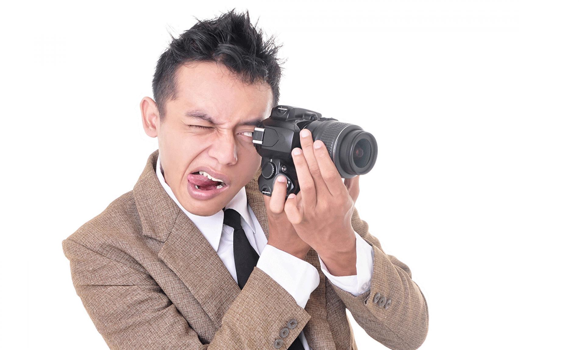 State lontano dai fotografi incapaci!