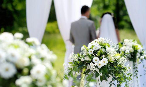 Si può celebrare il matrimonio all'aperto?