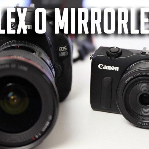 Mirrorless e Reflex: vediamo le differenze