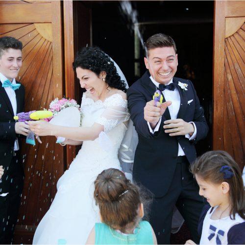 5 idee per realizzare scatti di nozze divertenti